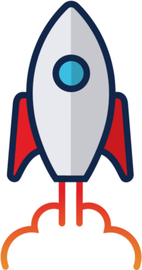 Takeoff Design Group Rocketship Icon